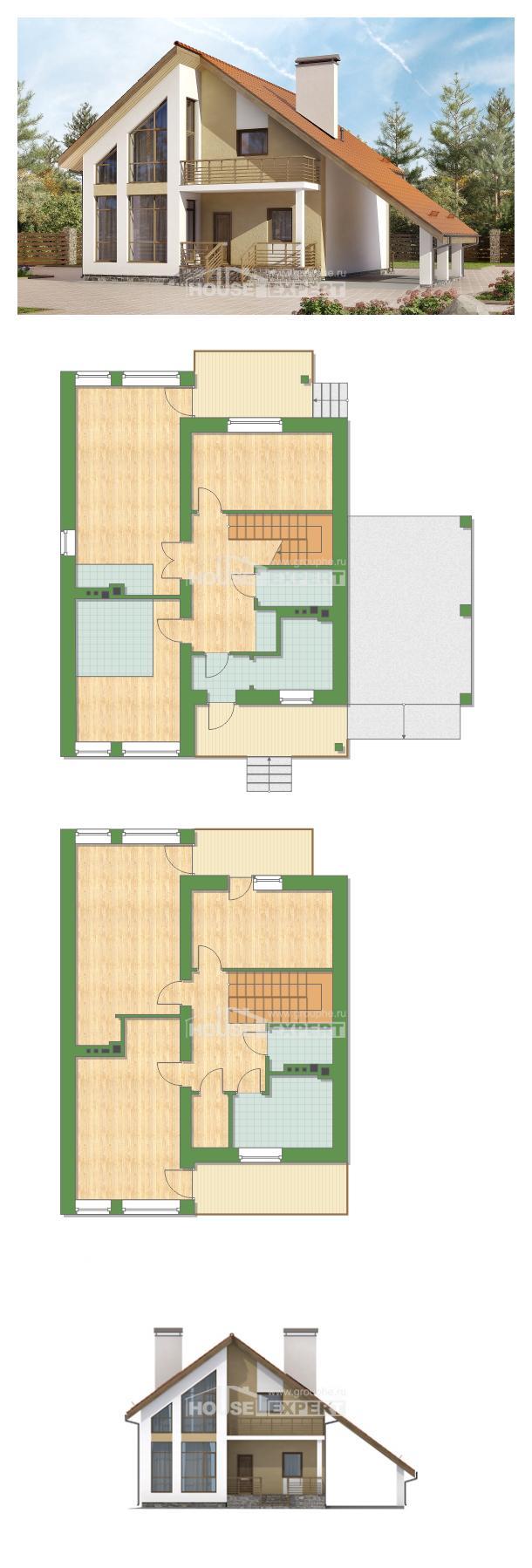 Проект дома 170-009-П   House Expert
