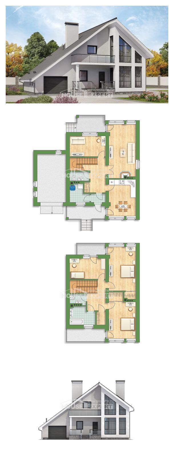Проект дома 200-007-Л | House Expert