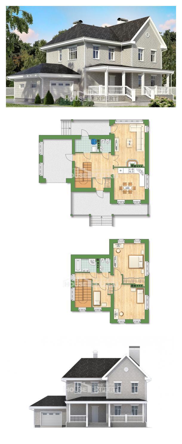Проект дома 190-001-Л | House Expert