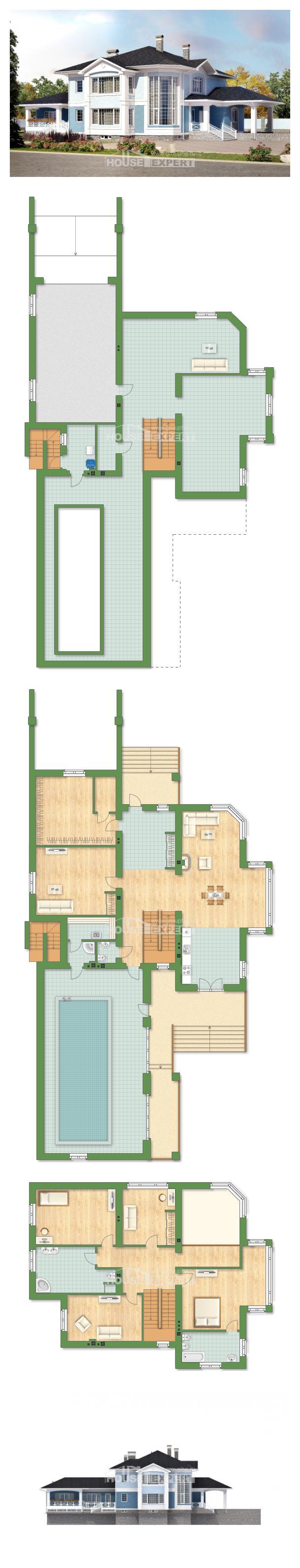 Проект дома 620-001-П   House Expert