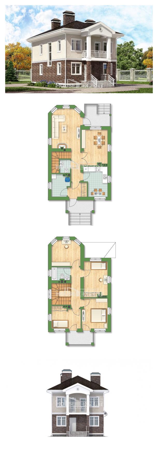 Проект дома 120-001-Л | House Expert