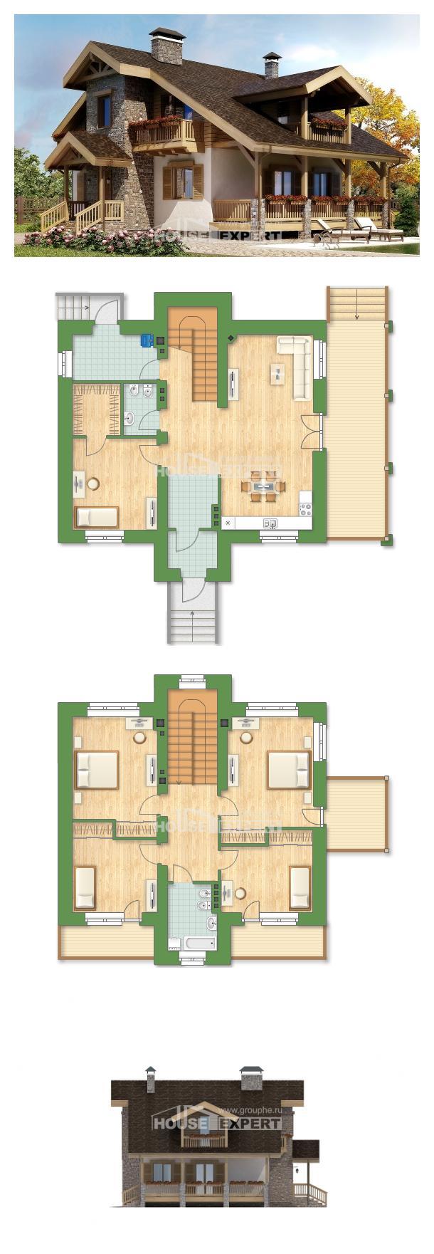 Проект дома 150-004-П   House Expert