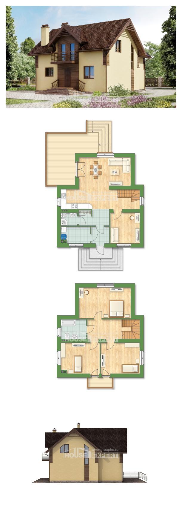 Проект дома 150-009-Л   House Expert