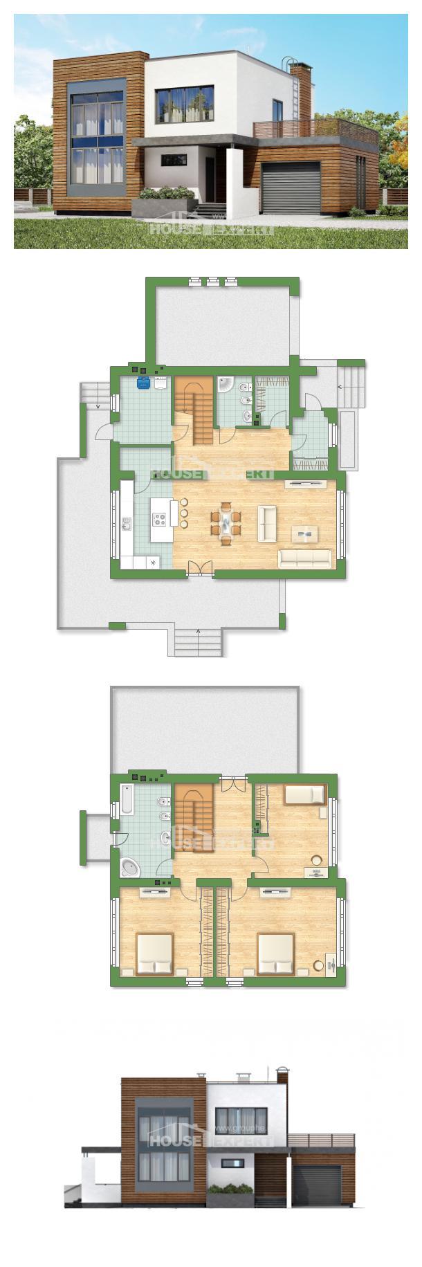 Проект дома 220-003-П   House Expert