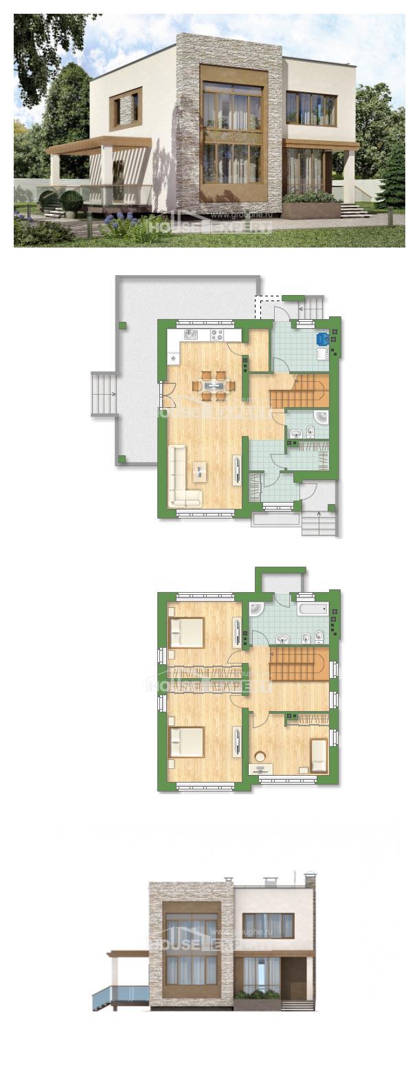 Проект дома 185-001-П   House Expert