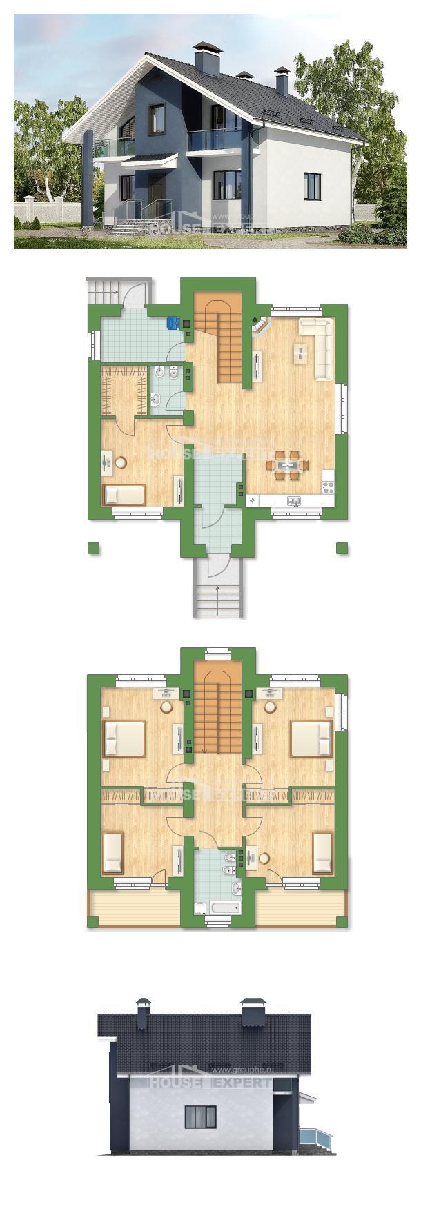 Проект дома 150-005-П | House Expert