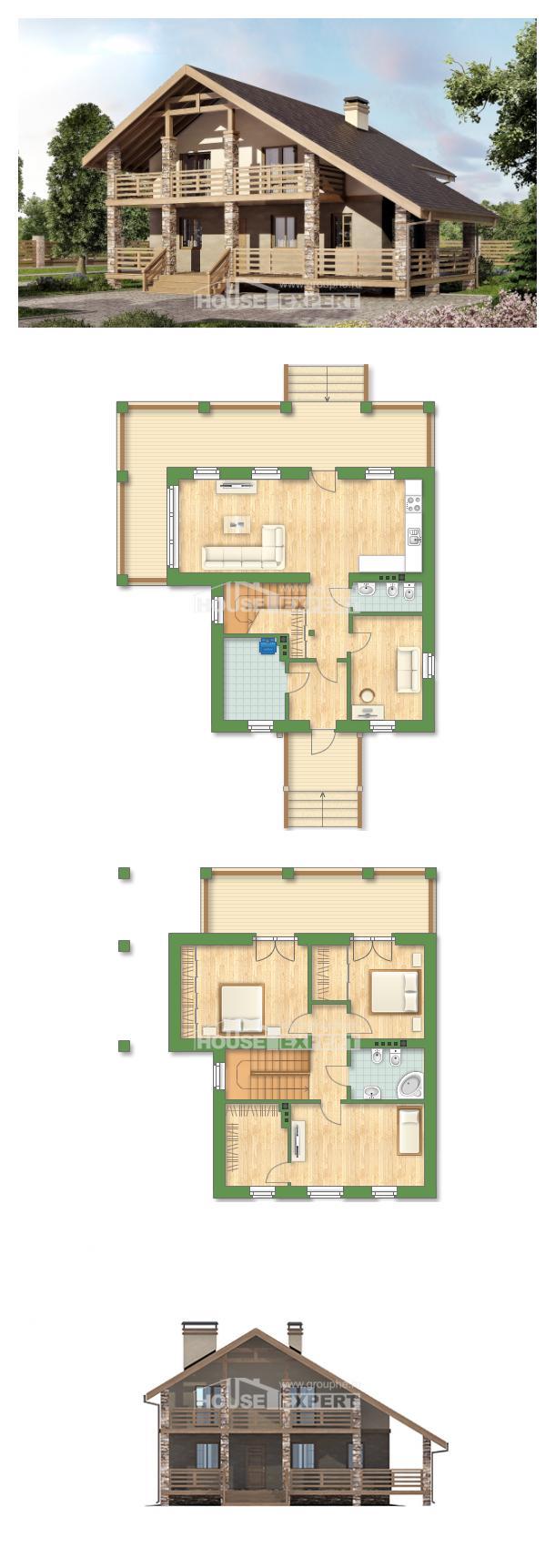 Проект дома 160-010-Л   House Expert
