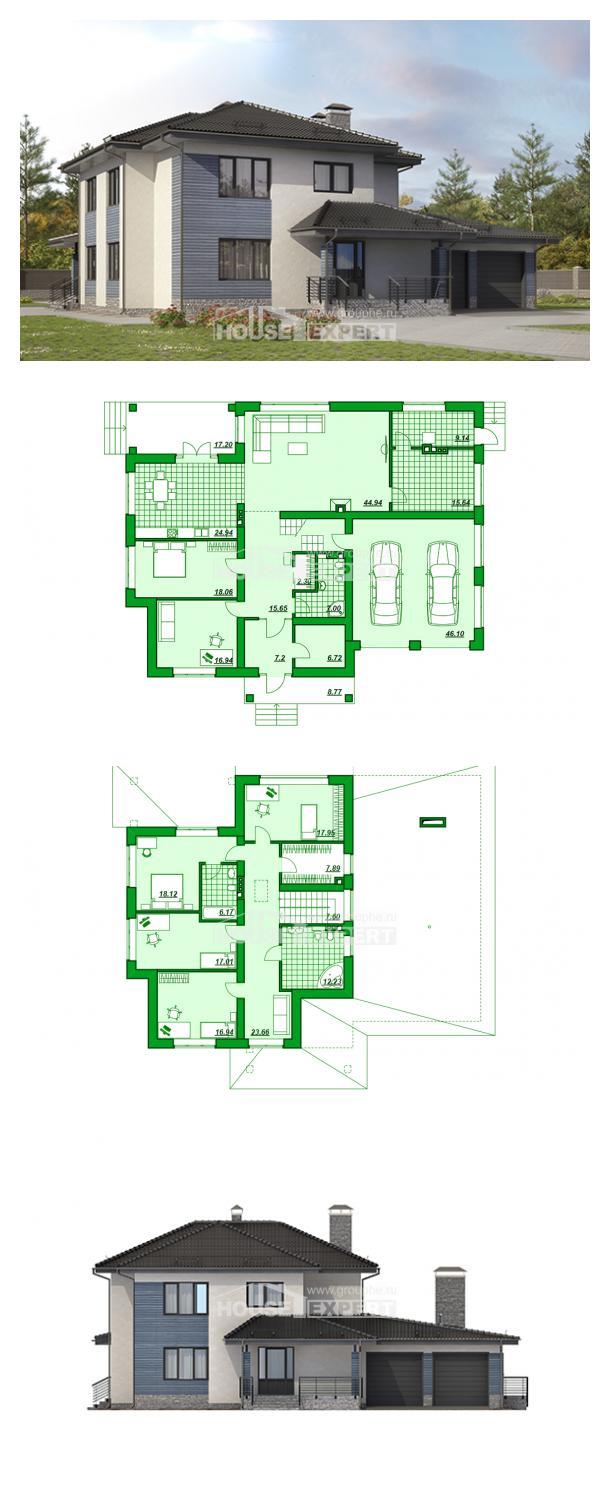 Проект дома 340-005-П   House Expert