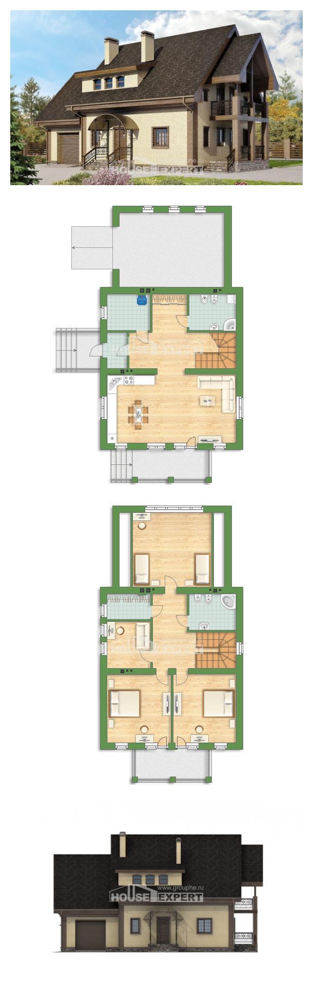 Проект дома 185-003-Л | House Expert