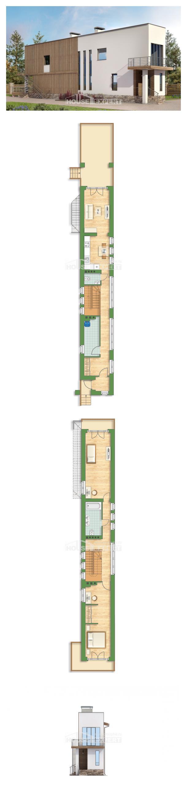 Проект дома 100-003-Л   House Expert