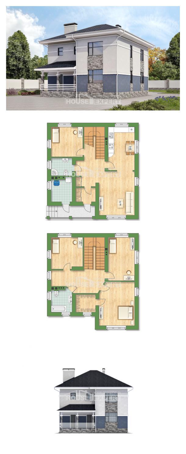 Проект дома 150-014-Л   House Expert