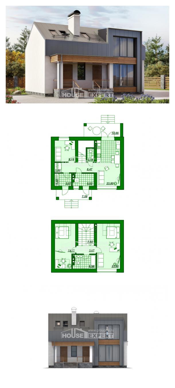 Проект дома 120-004-П   House Expert