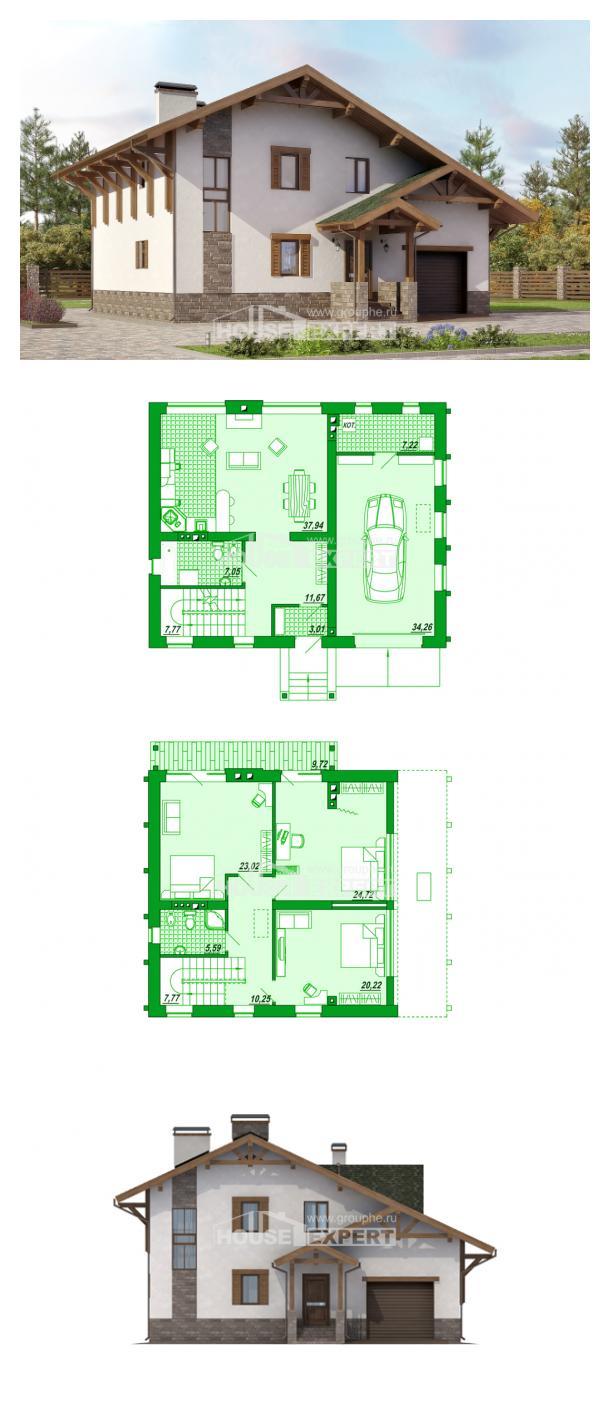 Проект дома 190-007-П   House Expert