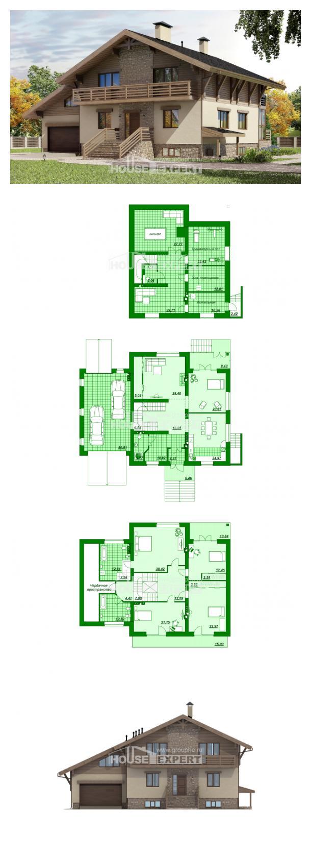 Проект дома 420-001-Л   House Expert