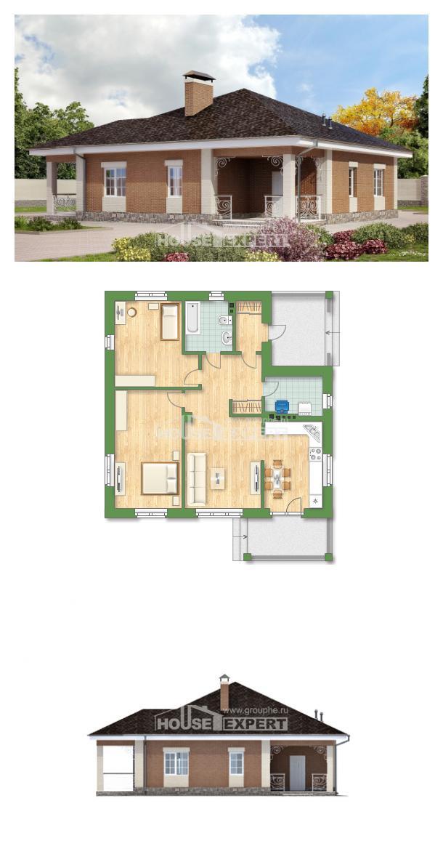 Проект дома 100-004-П   House Expert
